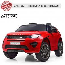 Детский электромобиль Джип Bambi M 3908 EBLR-3 Land Rover, красный