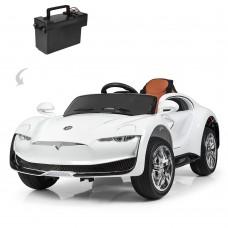 Детский электромобиль Bambi M 3964 EBLR-1 Tesla, белый