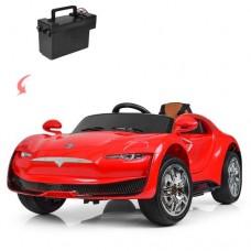Детский электромобиль Bambi M 3964 EBLR-3 Tesla, красный