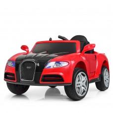 Детский электромобиль Bambi M 3968 EBLR-3 Bugatti Veyron, красный