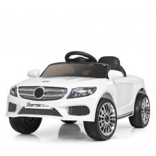 Детский электромобиль Bambi M 3981 EBLR-1 Mercedes S63 AMG, белый