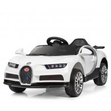 Детский электромобиль Bambi M 3988 EBLR-1 Bugatti Veyron, белый
