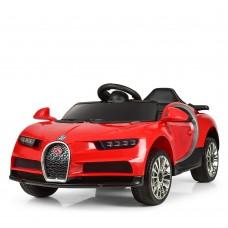 Детский электромобиль Джип Bambi M 3988 EBLR-3 Bugatti Veyron, красный