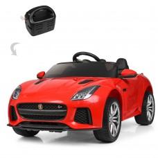 Детский электромобиль Bambi M 3994 EBLR-3 Jaguar F-TYPE R, красный