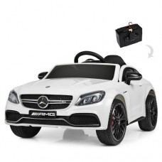 Детский электромобиль Bambi M 4010 EBLR-1 Mercedes, белый