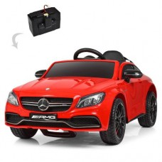 Детский электромобиль Bambi M 4010 EBLR-3 Mercedes, красный