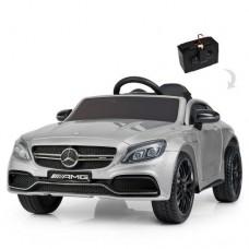 Детский электромобиль Bambi M 4010 EBLRS-11 Mercedes, серебристый