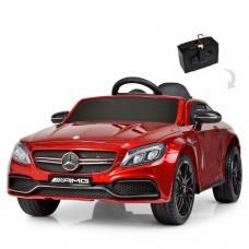 Детский электромобиль Bambi M 4010 EBLRS-3 Mercedes, красный