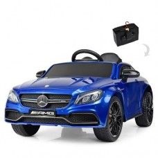 Детский электромобиль Bambi M 4010 EBLRS-4 Mercedes, синий