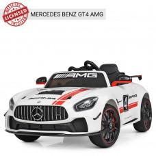 Детский электромобиль Bambi M 4050 EBLR-1 Mercedes Benz, белый