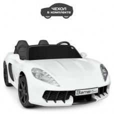 Детский электромобиль Bambi M 4055 AL-1 Porsche, двухместный, белый