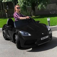 Детский электромобиль Bambi M 4055 ALS-2 Porsche, двухместный, черный
