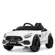 Детский электромобиль Bambi M 4062 EBLR-1 Mercedes AMG GT, белый