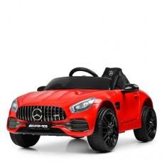 Детский электромобиль Bambi M 4062 EBLR-3 Mercedes AMG GT, красный