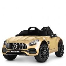 Детский электромобиль Bambi M 4062 EBLRS-13 Mercedes AMG GT, золотой