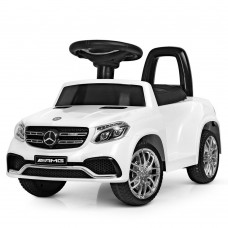 Детский электромобиль каталка толокар Bambi M 4065 EBLR-1-1 Mercedes, белый