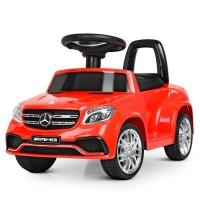 Детский электромобиль каталка толокар Bambi M 4065 EBLR-3-1 Mercedes, красный