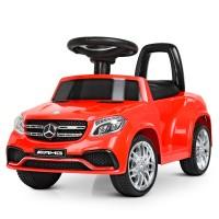 Детский электромобиль каталка толокар Bambi M 4065 EBLR-3 Mercedes, красный