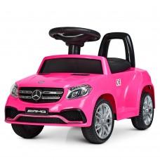 Детский электромобиль каталка толокар Bambi M 4065 EBLR-8 Mercedes, розовый