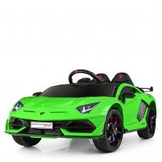 Детский электромобиль Bambi M 4093 EBLR-5 Lamborghini  Aventador SV, зеленый