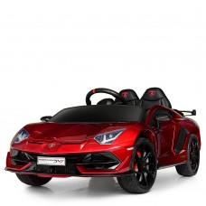 Детский электромобиль Bambi M 4093 EBLRS-3 Lamborghini Aventador SV, красный