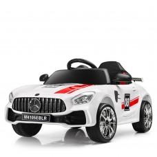 Детский электромобиль Bambi M 4105 EBLR-1 Mercedes AMG GT, белый