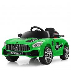 Детский электромобиль Bambi M 4105 EBLR-5 Mercedes AMG GT, зеленый