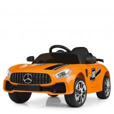 Детский электромобиль Bambi M 4105 EBLR-7 Mercedes AMG GT, оранжевый