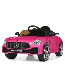 Детский электромобиль Bambi M 4105 EBLRS-8-2 Mercedes AMG GT, малиновый