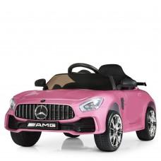 Детский электромобиль Bambi M 4105 EBLRS-8 Mercedes AMG GT, розовый