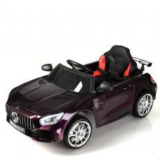 Детский электромобиль Bambi M 4105 EBLRS-9 Mercedes AMG GT, хамелеон пурпурный