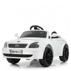 Детский электромобиль Bambi M 4106 EBLR-1 Lada Priora, белый
