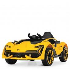 Детский электромобиль Bambi M 4115 EBLR-6 Lamborghini, желтый