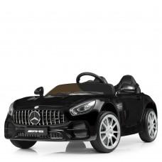 Детский электромобиль Bambi M 4158 EBLR-2 Mercedes, двухместный, черный