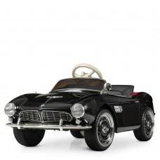 Детский электромобиль Bambi M 4169 EBLR-2 Ретро BMW, черный