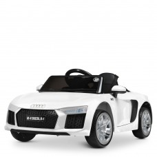 Детский электромобиль Bambi M 4190 EBLR-1 Audi R8 Spyder, белый