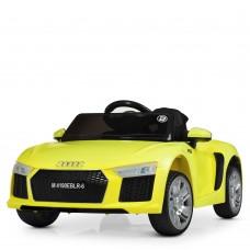 Детский электромобиль Bambi M 4190 EBLR-6 Audi R8 Spyder, желтый