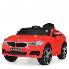 Детский электромобиль Bambi M 4194 EBLR-3 BMW 6 GT, красный