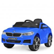 Детский электромобиль Bambi M 4194 EBLR-4 BMW 6 GT, синий