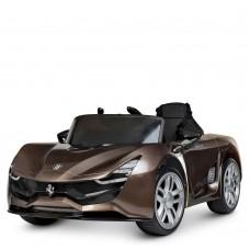 Детский электромобиль Bambi M 4203 EBLRS-13 Ferrari, коричневый