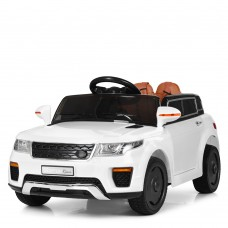 Детский электромобиль Джип Bambi M 5396 EBLR-1 Land Rover, белый