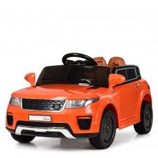 Детский электромобиль Джип Bambi M 5396 EBLR-7 Land Rover, оранжевый