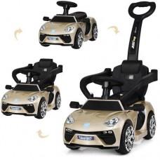 Детский электромобиль каталка толокар Bambi M3591 LS-13 Lamborghini, золотой