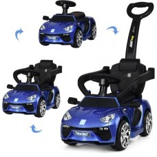 Детский электромобиль каталка толокар Bambi M3591 LS-4 Lamborghini, синий