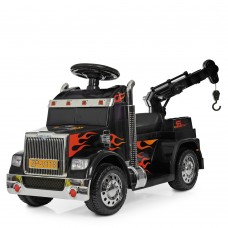 Детский электромобиль Грузовик Bambi ZPV118 BR-2, черный