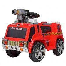 Детский электромобиль Bambi ZPV119 AR-3 Пожарная машина, красный