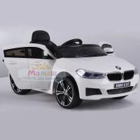 Детский электромобиль Bambi M 4194 EBLR-1 BMW 6 GT, белый