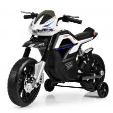 Детский мотоцикл Bambi JT 5158-1 Yamaha, черно-белый