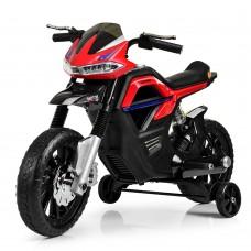 Детский мотоцикл Bambi JT 5158-3 Yamaha, черно-красный