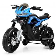 Детский мотоцикл Bambi JT 5158-4 Yamaha, черно-синий